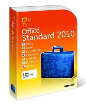 Microsoft Office 2010 Standard 32/64 Bit Produkt Key