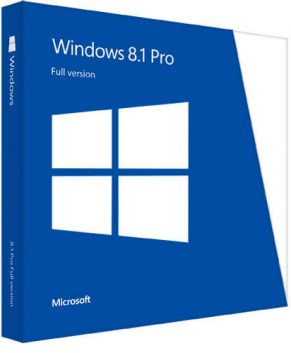 Microsoft Windows 8.1 Professional 32/64 Bit Produkt Key