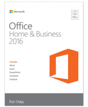 Microsoft Office 2016 Home and Business für Mac Produkt Key