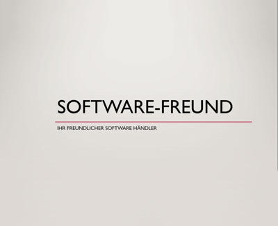 Software-Freund bei Softwaregeek
